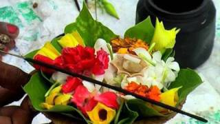 Flowers for Aarti in Rishikesh