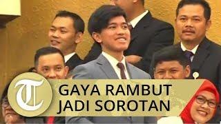 Gaya Rambut Kaesang Jadi Sorotan saat Pelantikan Presiden Periode 2019-2024