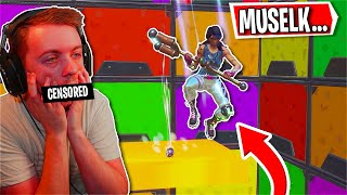 So I played Muselks Deathrun and this is what happened... (Fortnite Creative)