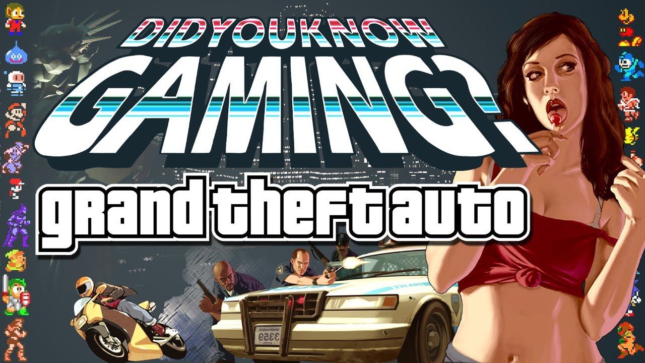 Grand Theft Auto Grew From A Glitch, And Other Little-Known GTA Facts