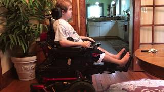 Wheelchair Stretching: Hamstring and Heel Cord