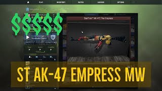 Ak 47 The Empress Unboxing 123vid