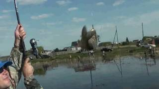 Рыбалка в апреле на озере ик омской области