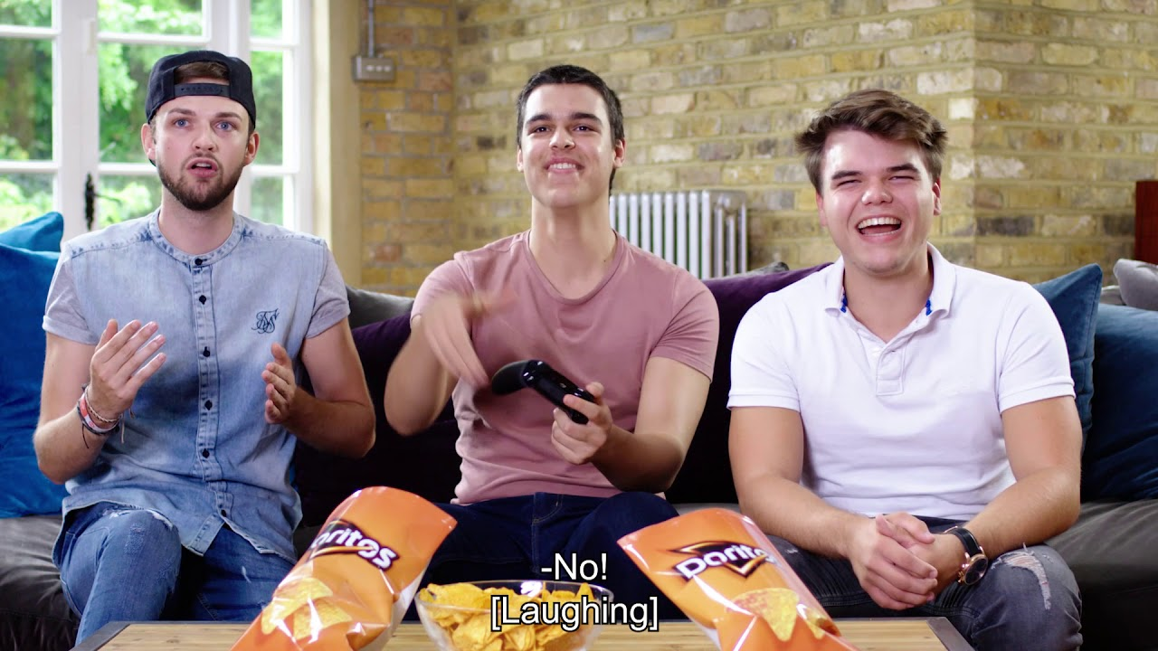 Video forXbox and Doritos Team up with YouTube Stars to Play Bold