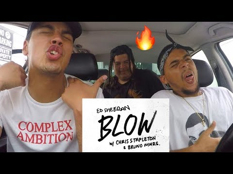 Ed Sheeran - BLOW (with Chris Stapleton & Bruno Mars) FIRST ROCK REACTION - Complex Ambition