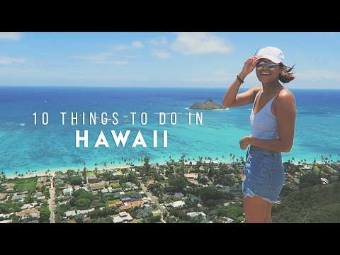 Video 10 Things To Do In Hawaii   Kelly Inciong