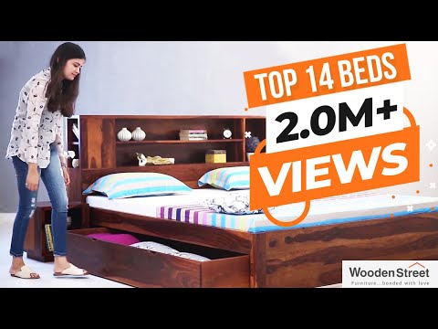 Double Bed - Full Size Bed Latest Price, Manufacturers