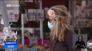 04/05: Utilização de máscaras em espaços comerciais e transportes públicos obrigatória nos Açores