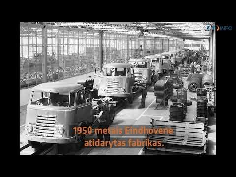 90 metų bendrovei DAF. Nepaprasta Olandijos gamintojo istorija