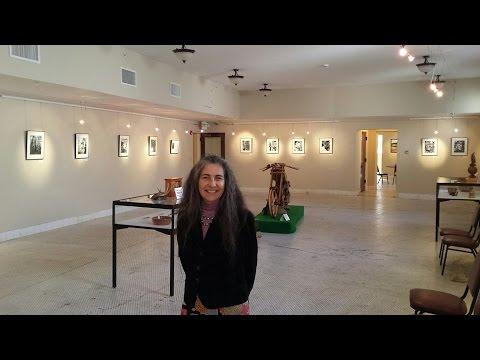 Susan Julie Gonzales Tree Creatures Exhibit