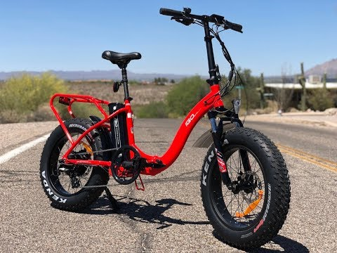 iGo Fat Folding Electric Bike Review   Electric Bike Report