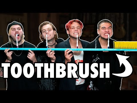 Download 6 Person Toothbrush Challenge Ft. 5SOS HD Mp4 3GP Video and MP3
