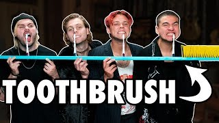 6 Person Toothbrush Challenge ft. 5SOS