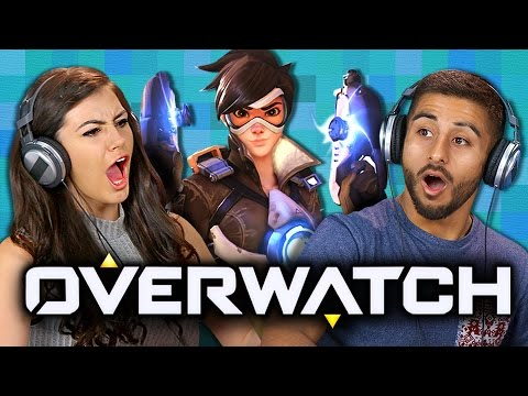 OVERWATCH (Teens React: Gaming)
