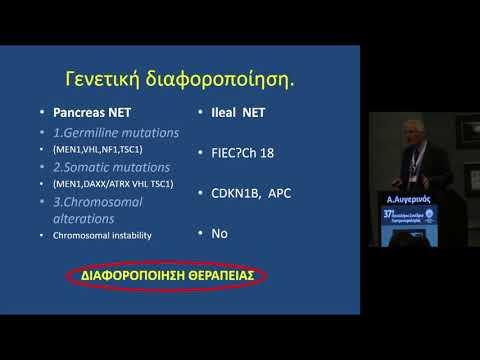 Αυγερινός Αντώνης - Θεραπευτικός αλγόριθμος νευροενδοκρινών όκγων (ΝΕΤ) πεπτικού