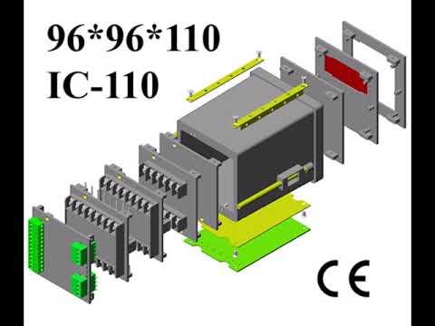 Digital Panel Meter Enclosure DIN 96x96x110