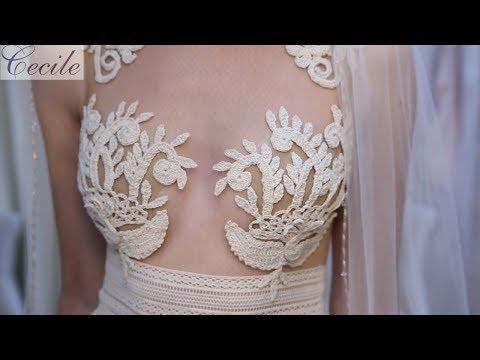 Romantisches Brautkleid für eure Strand-Hochzeit!