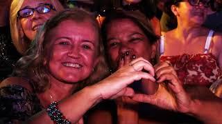 Primeira noite do show do Ilumina Santos leva multidão ao Gonzaga
