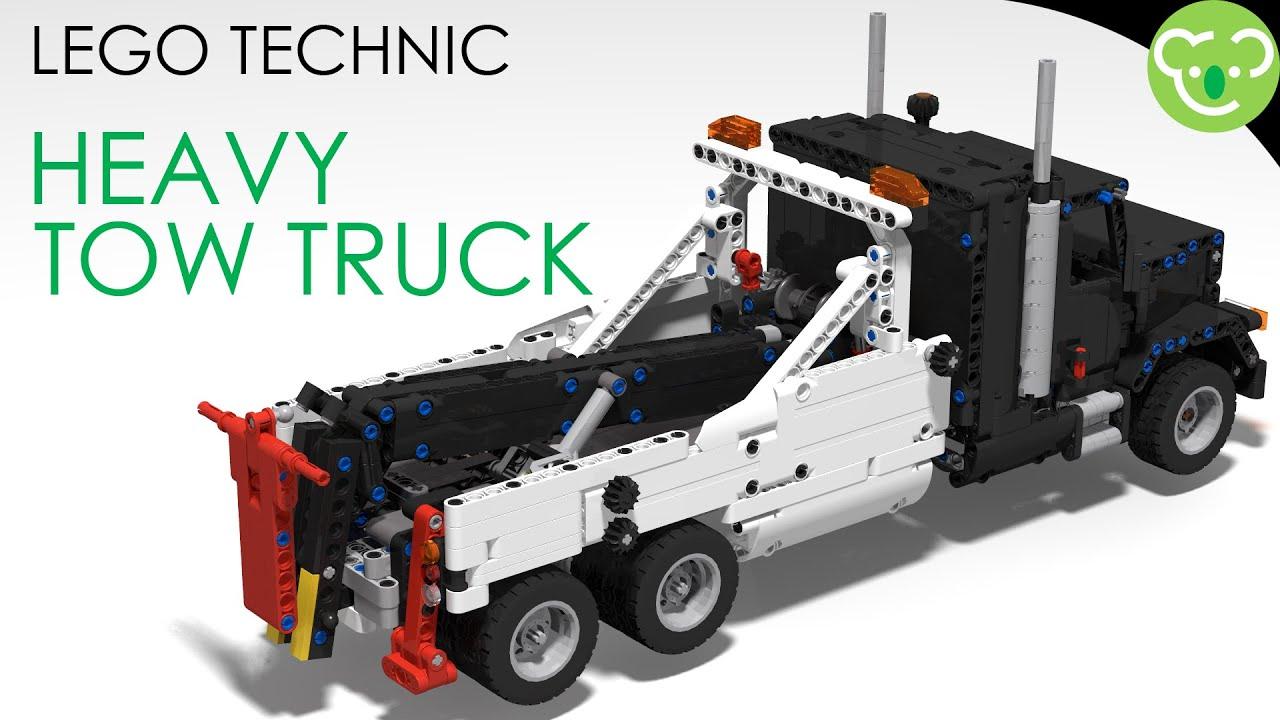 Heavy Tow Truck - LEGO Technic MOC