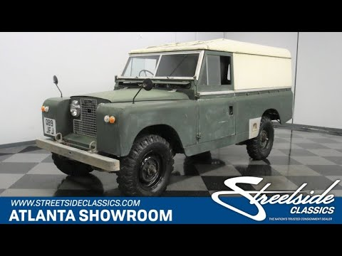 1960 Land Rover Series I (CC-1434312) for sale in Lithia Springs, Georgia