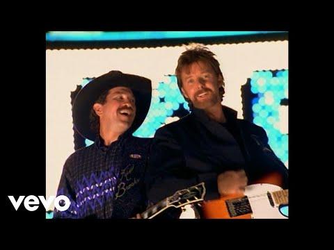 Brooks & Dunn - Honky Tonk Truth (w/o Dale Earnhardt)