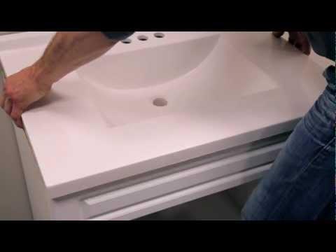 RONA - Comment installer un meuble-lavabo