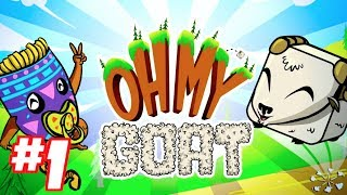 OH MY GOAT! Gameplay Walkthrough Part 1 (iPhone, iPad, iOS, Android Game)