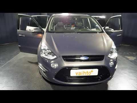 Ford S-MAX 1.6 EcoBoost 160 Titanium - Navigointilaite - 7 paikkainen, Tila-auto, Manuaali, Bensiini, INC-766