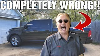 Heres Why SCOTTY KILMER IS COMPLETELY WRONG About (Dodge) Ram Trucks!!!