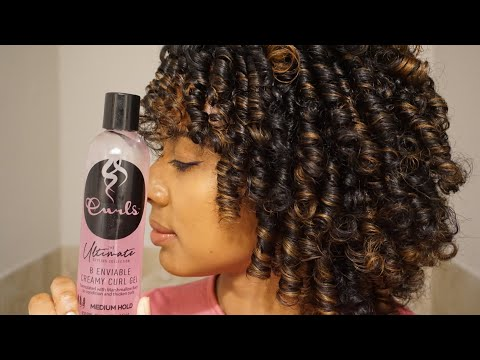 Natural Hair Perm Rod Set l Curls Ultimate Styling Collection Gel