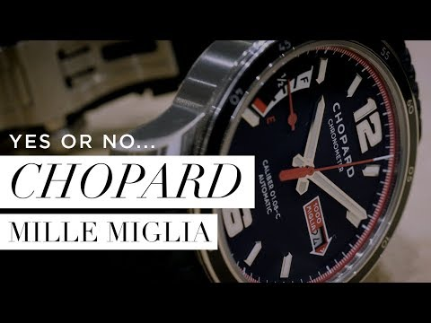 5 Reasons to buy the CHOPARD MILLE MIGLIA