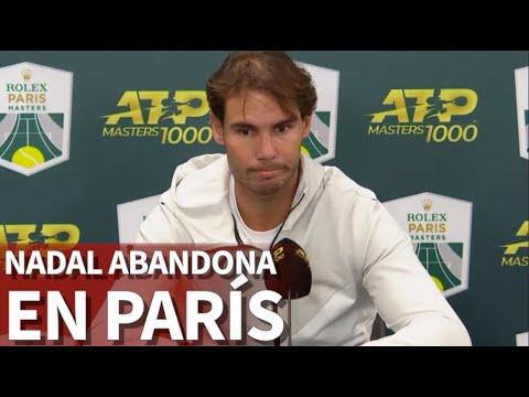 Nadal se retira en semifinales del Masters 1.000 Paris-Bercy | Diario AS