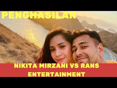 Fantastis! Penghasilan Rans Entertainment Vs Nikita Mirzani dari Youtube