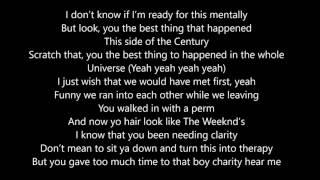 Big Sean - Jump Out The Window (Lyrics)