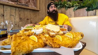 THE UNDEFEATED CODBUSTER GIANT FISH & CHIP CHALLENGE | C.O.B. Ep.171
