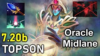 Topson Oracle 7.20 Midlane ,Is This New Meta ?