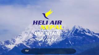 First Time in Nepal    Incredible Mountain Flight by Gyrocopter    Heli Air Nepal