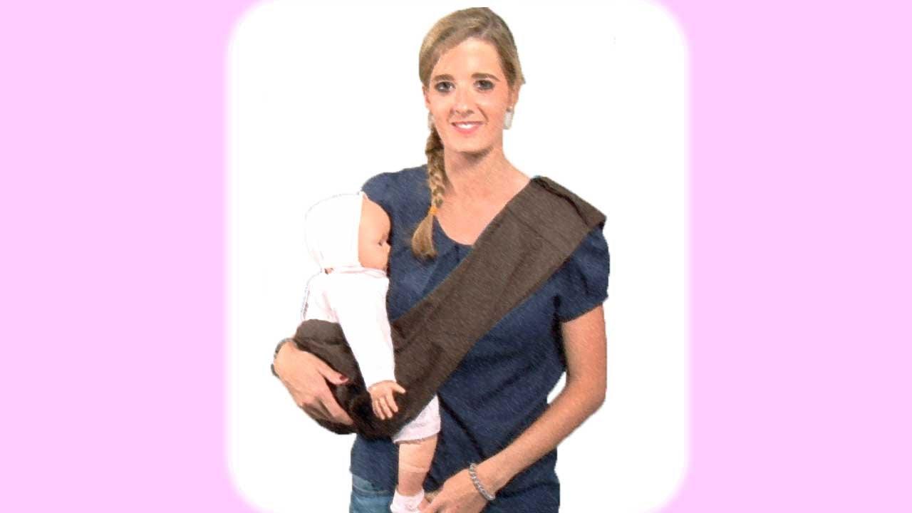 Portabebés. Llevar al bebé en un pouch