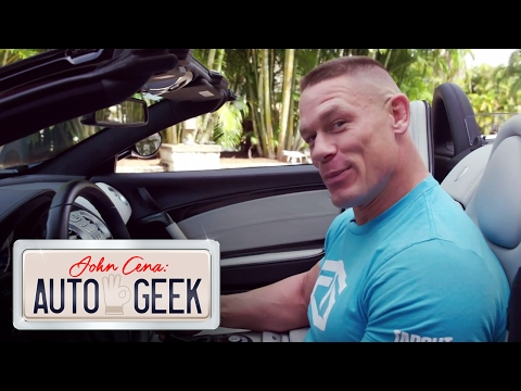 John Cena's supercharged Mercedes-Benz Roadster screams DARTH VADER! - John Cena: Auto Geek