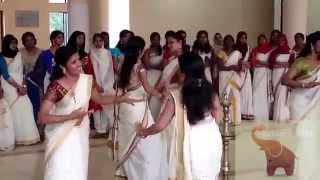 KMCT Medical College Onam Fest 2014- Thiruvathira