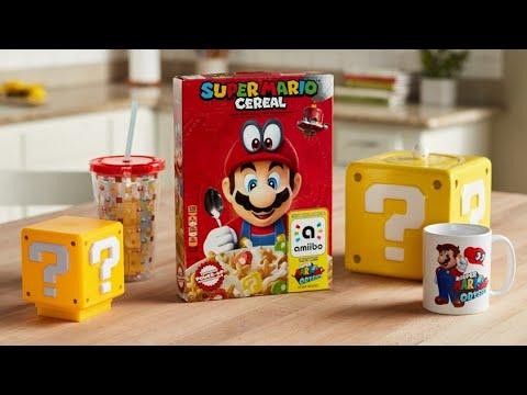 BPGR Tries | Super Mario Cereal