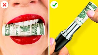 TOP 10 GENIUS LIFE HACKS FOR GIRLS || Funny Tips That Will Save You A Fortune!