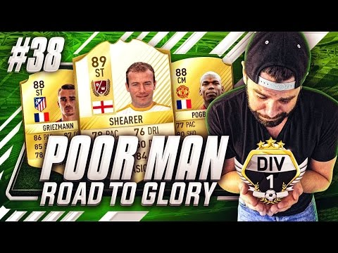 NEW DREAM TEAM w/ POGBA + GRIEZMANN!! WIN DIVISION 1?!?! - Poor Man RTG #38 - FIFA 17 Ultimate Team