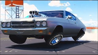 FH3 MODS 10,000HP Chevelle : WDF am i DOING LOL WALLTAP!