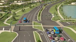 Crosstown Parkway Extension Project -- REVISED Animation - Feb. 2017