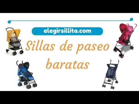 Sillas de paseo baratas 2016 - elegirsillita.com