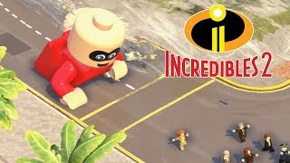 LEGO THE INCREDIBLES 2 All Endings - Final Boss & Ending