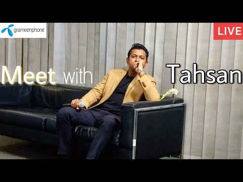 Tahsan Khan Giving Speech & Answering Questions | At Meet With Tahsan Event |Grameenphone|25.10.2018