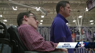 Fayetteville basketball manager with muscular dystrophy leads squad