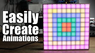 How To Easily Create Animations For Your LED Matrix